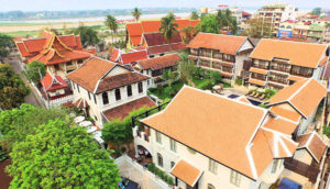 Ansara Hotel - Aerial View